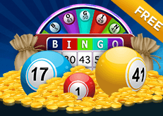 Free Bonus Bingo - SugarHouse Casino special feature