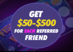 Refer a Friend - SugarHouse Casino special feature
