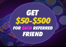 Refer-a-friend program - SugarHouse Casino special feature